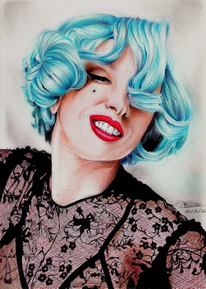 Lady Gaga par FlosDrawing